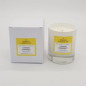 Lemon Sherbet Scented Candle
