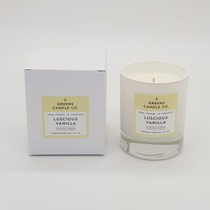 Luscious Vanilla Scented Candle