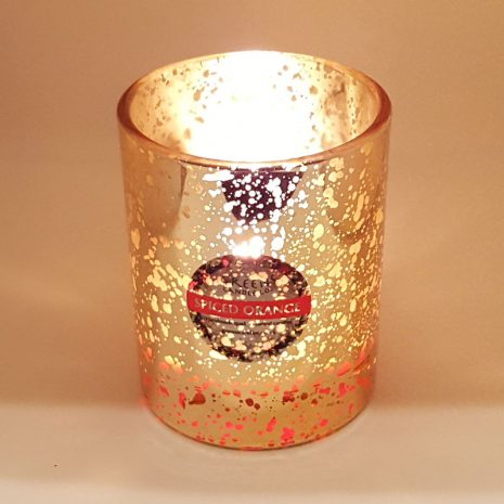 Gold Spiced Orange Candle it