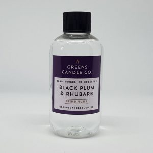 Black Plum and Rhubarb Reed Diffuser Refill