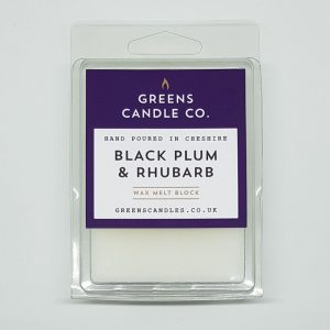 Black Plum and Rhubarb Wax Melts